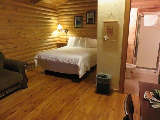 Saint Mary, MT: cabin #3 interior