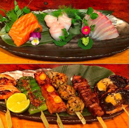 Yatai Izakaya: Selection of Sashimi & Skewers