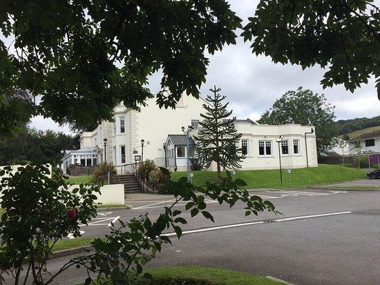 Pentrebach, UK: View from Premier Inn