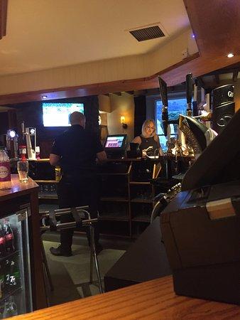 Pentrebach, UK: View across the bar