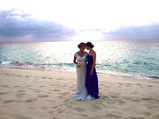 Frangipani Beach Resort: our wedding