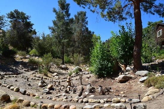 Sequoia Lodge: Rock garden