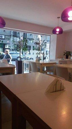 Infinito Hotel: Sala para desayunar