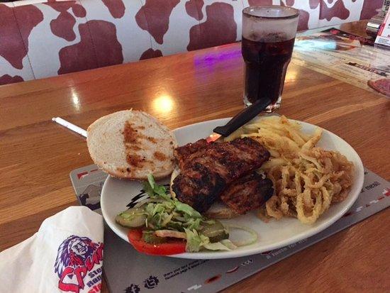 Table View, África do Sul: rió bbq burger