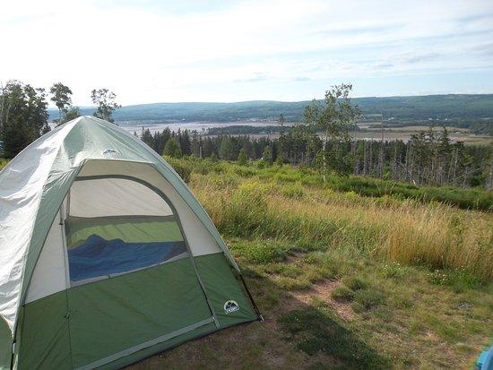 Five Islands, Canadá: site de camping avec belle vue
