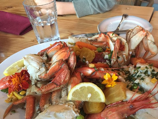 Blind Channel, Canadá: Seafood platter from days catch