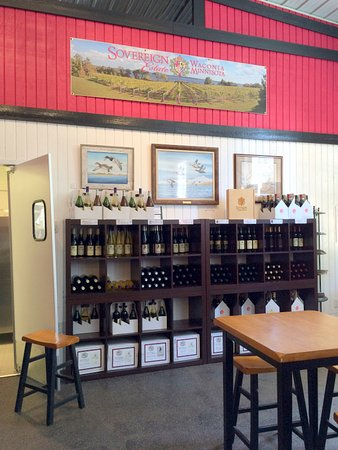 Waconia, MN: Sales Rack of Sovereign Estate Wines