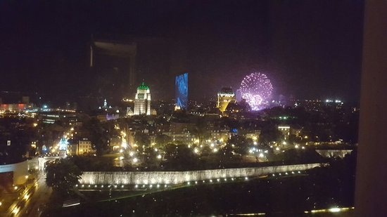 Window View - Hilton Quebec Photo