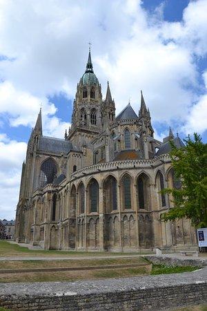 Domkirken Set Fra øst Picture Of Notre Dame Cathedral Bayeux