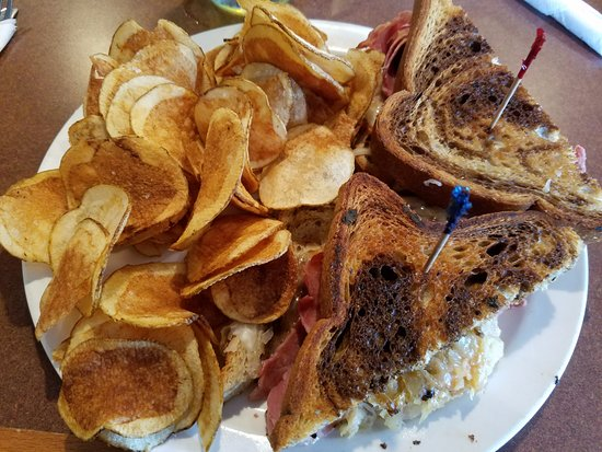 Galena, OH: Reuben with chips.