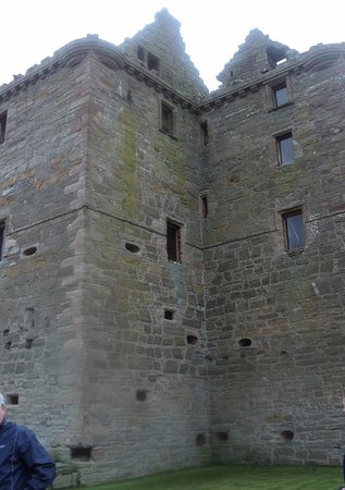Pierowall, UK: from the side