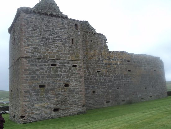Pierowall, UK: from the other side
