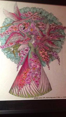 The Presbytere: Mardi Gras costume renderings