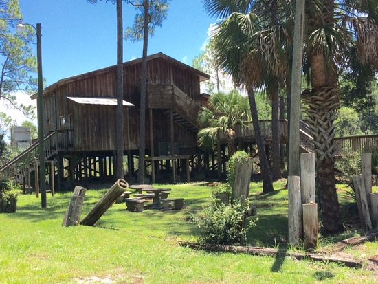 Wakulla Visitors Center in Panacea Florida