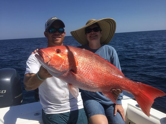 Red snapper had to go back picture of gulf angler for Florida gulf fish