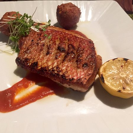Coral Grill at Four Seasons Nevis: Sea Bass