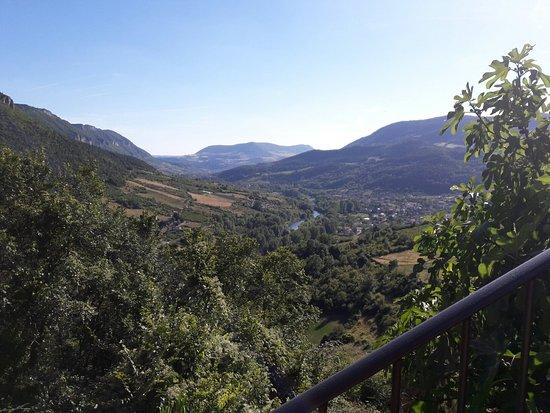 Riviere-sur-Tarn, Frankreich: Vue sur la vallée