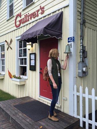 Gagetown, Canadá: Gulliver's World Cafe