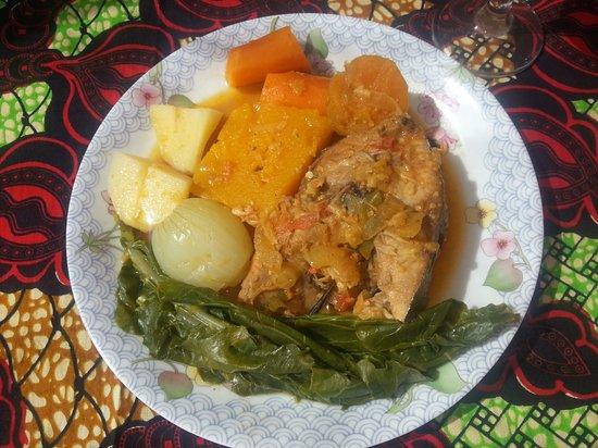 Cidade Velha, Πράσινο Ακρωτήριο: Caldo de peixe