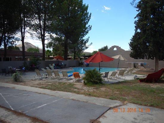 Jacumba Hot Springs Hotel: Pool