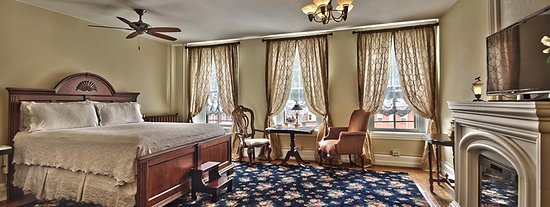 Jim Thorpe, PA: Legacy Grand Suite - king bed, sitting room, whirlpool tub