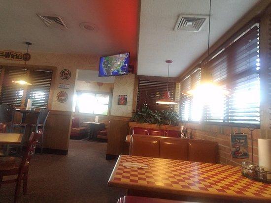 Sunbury, OH: The interior seating.