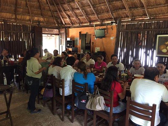 Tecoh, México: Restaurant