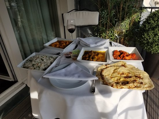 Hotel Keppler: One Night of Superb Indian Food on the Terrace!