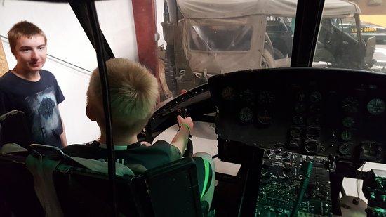 Lexington, NE: In the Pilot's seat of the Huey