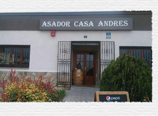 Campo Real, Espagne : Asador Casa Andrés