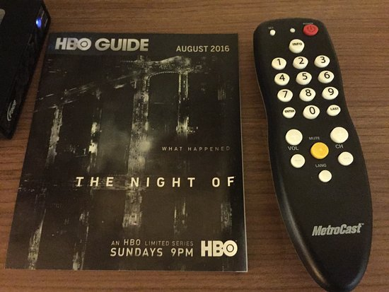 King George, VA: HBO guide w/ remote