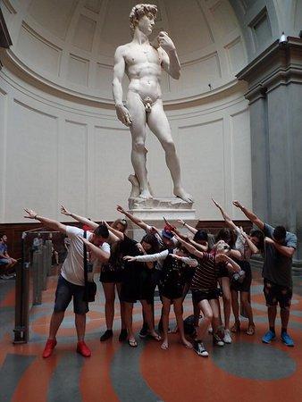Accademia di Belle Arti: Dab for David
