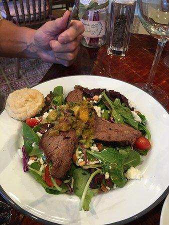 Genoa, NV: tri-tip salad
