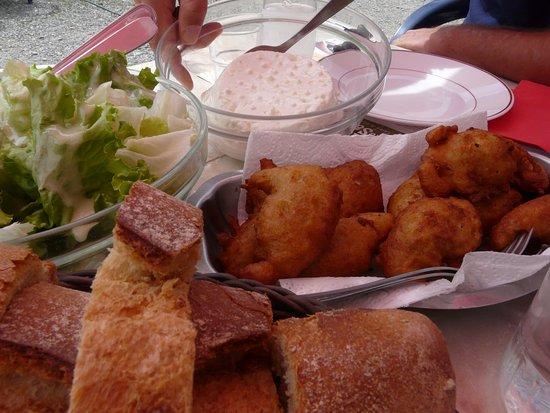 Le Reposoir, Prancis: les beignets