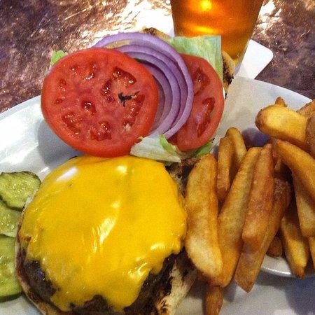 Sea Girt, NJ: Harrigan's California Cheeseburger with a Craft Beer!