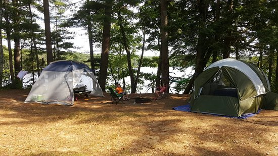 Lake Dennison State Recreation Area: Great campground! Nice and quiet, beautiful views,huge sites and friendly rangers!