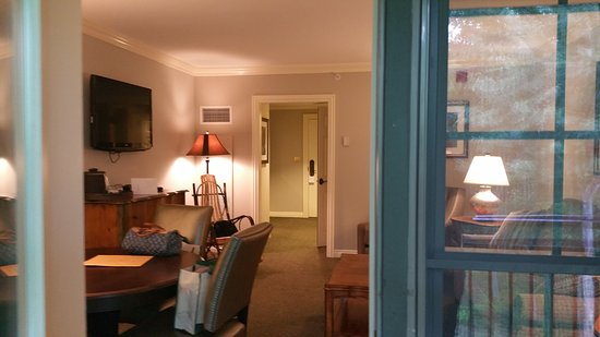The Lodge at Woodloch: Living Room