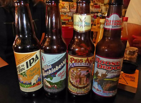 Babb, MT: Craft beers at Two Sisters