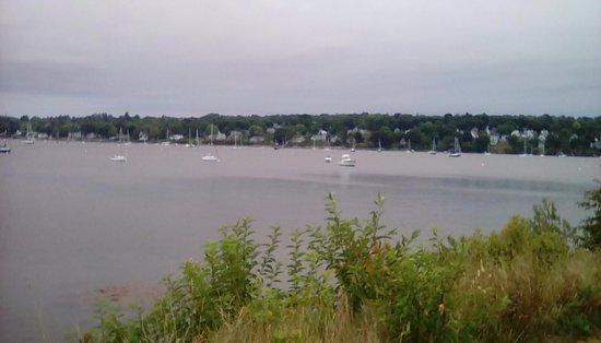 Belfast, ME: View of the bay