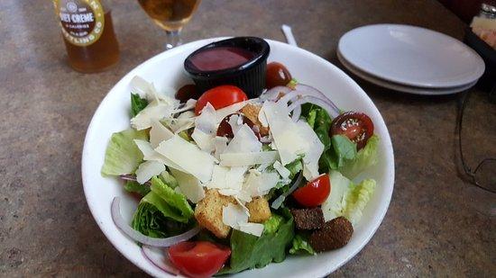 The Vault: Mixed salad