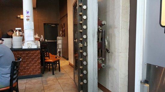 The vault door