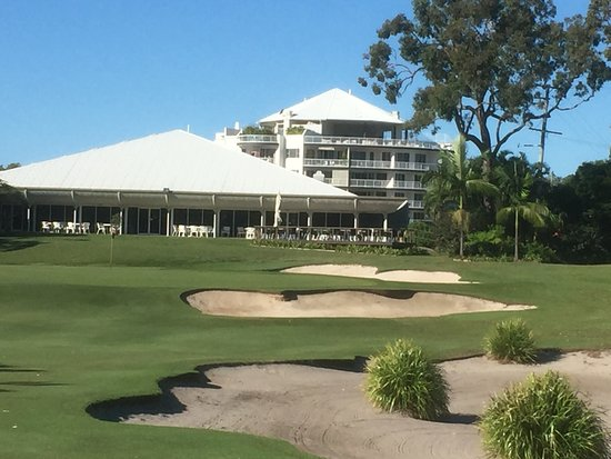 Woorim, ออสเตรเลีย: Fairways Retreat viewed from 18th hole