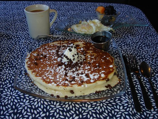 Cape Vincent, NY: Chocolate Chip Pancake - one!