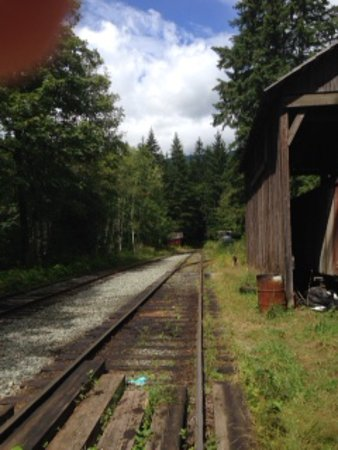 Port Alberni, Canada: the tracks