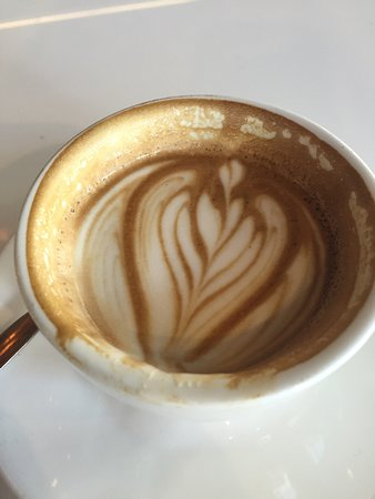 McMahons Point, Australia: Halfway through the best strong flat white in McMahon's point. Also recommend the lunch menu as
