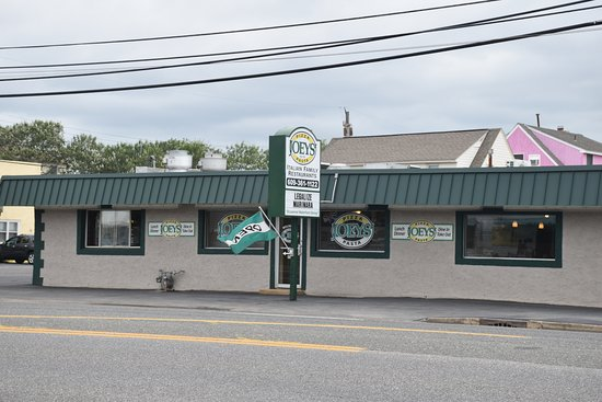 Long Beach Township, Nueva Jersey: Front View of Joey's Pizza and Pasta