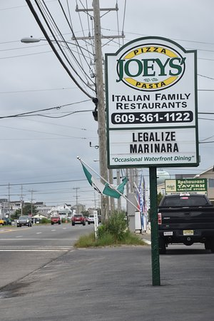 Long Beach Township, Nueva Jersey: Highway Sign