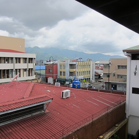 Hotel Colonial: View from the 3rd floor.