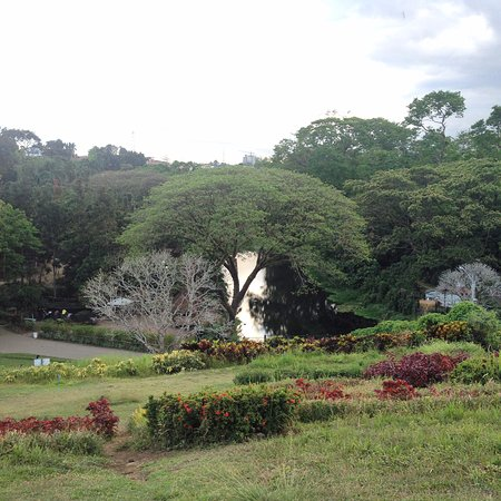 La Mesa Eco Park: view from the hill side of the park