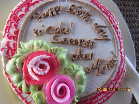 Karma Chakra Edel S Birthday Cake By The Grove